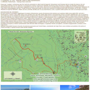 Beata Solitudo - Sentieri - Sentiero Tre Calli
